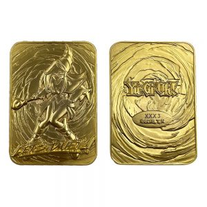 Yu-Gi-Oh! Replica Card Dark Magician Girl (gold plated) FaNaTik UK yugioh card UK yugioh replica card UK yugioh merchandise UK Animetal