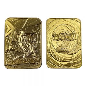 Yu-Gi-Oh! Replica Card Blue Eyes White Dragon (gold plated) FaNaTtik yugioh card UK yugioh replica card UK yugioh merchandise UK Animetal