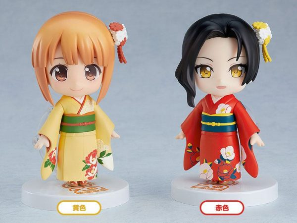 Nendoroid More 4-pack Parts for Nendoroid Figures Dress-Up Coming of Age Ceremony Furisode Good Smile Company UK Animetal