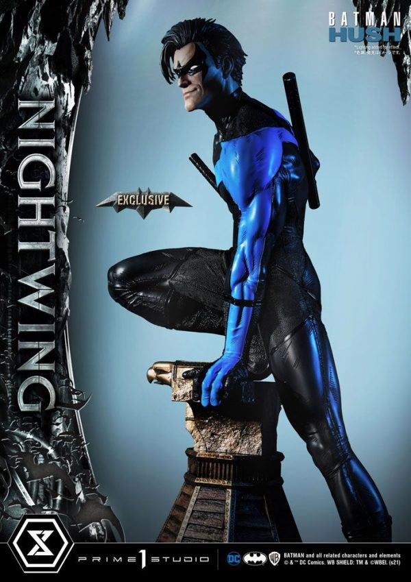 Batman Hush Statues Nightwing & Nightwing Exclusive Bonus 87 cm Assortment (3) Prime 1 Studio Batman Nightwing statues UK Animetal