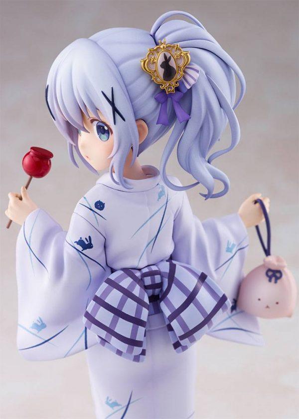 Is the Order a Rabbit PVC Statue 1/7 Chino (Summer Festival) 22 cm Plum UK is the order a rabbit chino figure plum UK Animetal