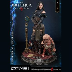 Witcher 3 Wild Hunt Statue Yennefer of Vengerberg Alternative Outfit Deluxe Version 51 cm Prime 1 Studio UK witcher 3 yennefer statue prime 1 studio UK