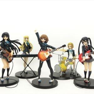 K-ON! Band Figure Set Banpresto SQ UK k-on figures UK k-on statues UK k-on figure set UK k-on figures banpresto SQ k-on statues UK Animetal