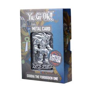 Yu-Gi-Oh! Replica Card Exodia The Forbidden One Limited Edition FaNaTtik UK yugioh merchandise UK yu gi oh merch UK yu-gi-oh merchandise UK Animetal