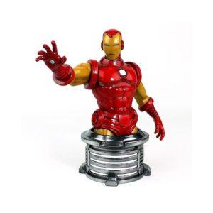 Marvel Bust Iron Man 17 cm Sentinel UK marvel figures UK iron man figures UK iron man bust UK iron man bust sentinel UK marvel merch UK Animetal
