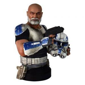 Star Wars The Clone Wars Bust 1/6 Commander Rex 15 cm Gentle Giant UK star wars busts UK star wars commander rex bust UK Animetal