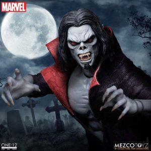Marvel Universe Light-Up Action Figure 1/12 Morbius 17 cm Mezco Toys UK marvel action figures UK marvel morbius scale action figure mezco UK Animetal