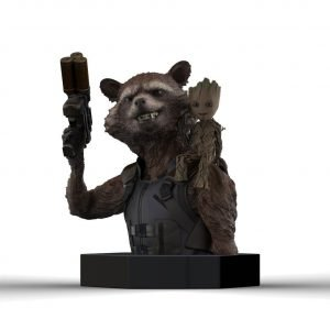 Guardians of the Galaxy Vol. 2 Bust 1/6 Rocket Raccoon & Groot 16 cm Semic UK Guardians of the Galaxy statues UK Guardians of the Galaxy figures UK Animetal