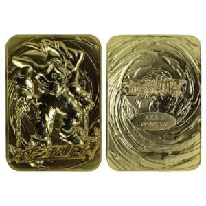 Yu-Gi-Oh! Replica Card Exodia the Forbidden One (gold plated) Fanatik UK yu-gi-oh figures UK yugioh statues UK yu gi oh replica card UK Animetal