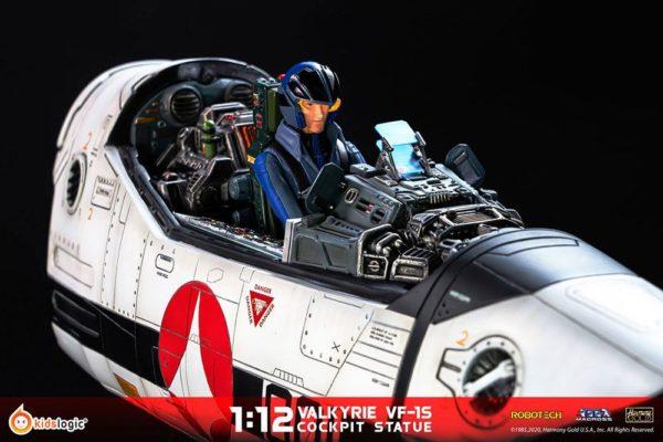 Robotech Macross Statue 1/12 Valkyrie VF-1S Cockpit 70 cm Kids Logic UK macross figures UK robotech macross valkyrie cockpit figure UK ANimetal