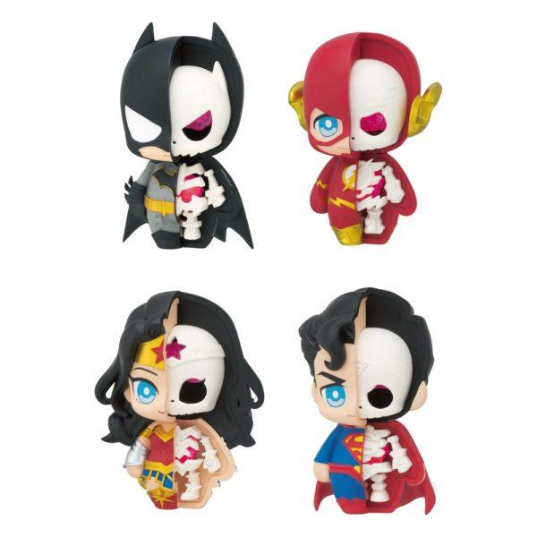 Justice League Kaitai Fantasy Figures 6 cm Assortment (4) Megahouse UK justice league figure set UK dc comics figures UK justice league figures UK Animetal
