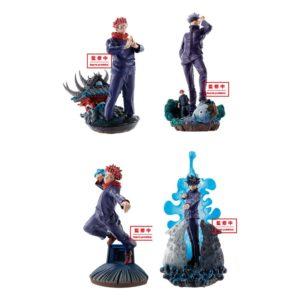 Jujutsu Kaisen Petitrama Series Trading Figure 9 cm Vol. 1 Assortment (4) Megahouse UK Jujutsu Kaisen figures UK Jujutsu Kaisen figure set UK Animetal