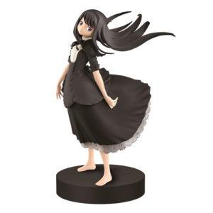 Madoka Magica Akemi Homura SQ Figure Black Dress Ver. 18 cm Banpresto UK Madoka Magica Akemi Homura figure black dress Banpresto UK Animetal