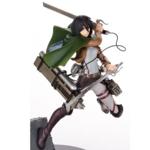 Attack on Titan Figure Mikasa Ackerman 20 cm SEGA UK Attack on titan mikasa figure UK Attack on titan figures UK anime figures UK animetal