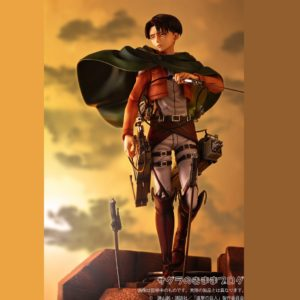 Attack on Titan Statue Levi 1/7 Scale Pulchra 27 cm UK Attack On titan Levi figure UK attack on titan figures UK attack on titan levi figure pulchra UK Animetal