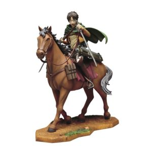 Attack on Titan Equestrian Statue Eren Ichiban Kuji prize a UK Attack On titan eren ichiban kuji figure UK attack on titan eren figure ichiban kuji horse UK Animetal