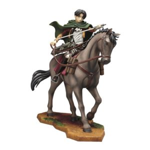 Attack on Titan Equestrian Statue Levi Ichiban Kuji prize B UK Attack On titan levi ichiban kuji figure UK attack on titan levi figure ichiban kuji horse UK Animetal