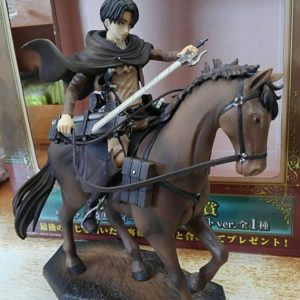 Attack on Titan Equestrian Statue Levi Repaint ver. Ichiban Kuji Special UK Attack On titan Levi ichiban kuji figure UK attack on titan levi figure UK Animetal