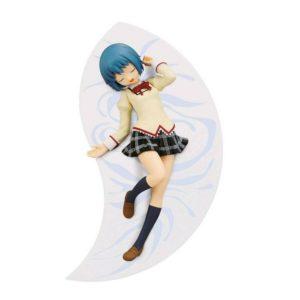 Madoka Magica Miki Sayaka SQ Figure Relax Time Oyasumi Ver. Banpresto SQ UK Madoka Magica Miki Sayaka Figure relax time eyes open Banpresto UK Animetal