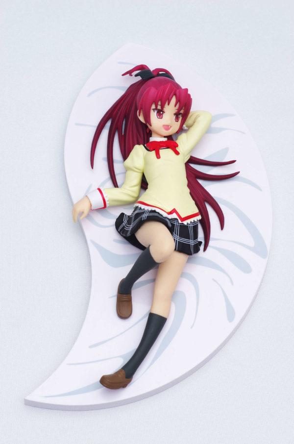 Madoka Magica Sakura Kyouko SQ Figure Relax Time Ver. Banpresto UK Madoka Magica Sakura Kyouko Figure relax time eyes open Banpresto UK Animetal