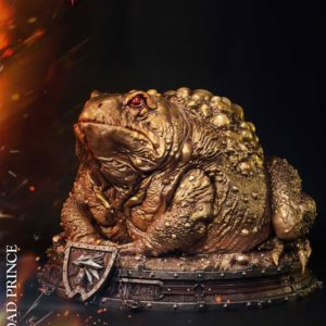 Witcher 3 Hearts of Stone Statue Toad Prince of Oxenfurt Gold Ver. 34 cm Prime 1 Studio UK witcher statues UK witcher prime 1 studio statues UK Animetal