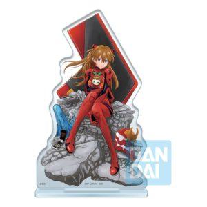 Evangelion: 3.0 + 1.0 Ichibansho Acrylic Figure Asuka Shikinami Langley (Operation Started!) 20 cm Bandai UK evangelion asuka acrylic stand UK Animetal