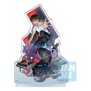 Evangelion: 3.0 + 1.0 Ichibansho Acrylic Figure Shinji Ikari (Operation Started!) 20 cm Bandai UK evangelion Shinji Ikari acrylic stand UK Animetal