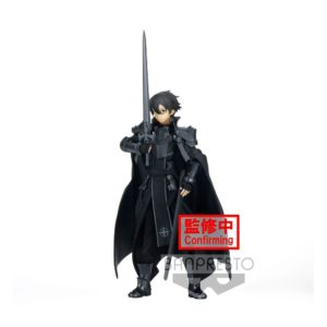 Sword Art Online Alicization Rising Steel Espresto PVC Statue Integrity Knight Kirito 16 cm Banpresto UK Sword Art Online Alicization Kirito figure banpresto espresto UK Animetal