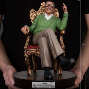 Stan Lee Master Craft Statue The King of Cameos 33 cm Beast Kingdom Toys UK stan lee figures UK marvel figures UK stan lee statue beast kingdom toys UK Animetal