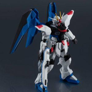 Mobile Suit Gundam Seed Gundam Universe Action Figure ZGMF-X10A Freedom Gundam 15 cm Bandai Tamashii Nations UK gundam action figures Bandai UK Animetal