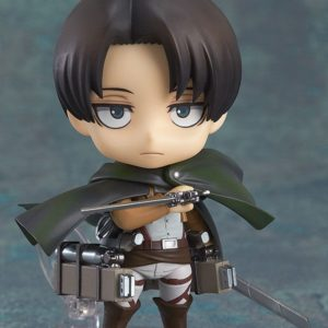 Attack on Titan Nendoroid Action Figure Levi 10 cm Good Smile Company UK Attack on Titan Nendoroids UK Attack on Titan Levi Nendoroid UK Animetal