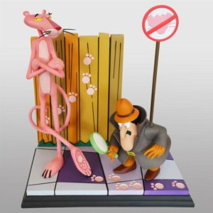 The Pink Panther Statue Pink Panther & The Inspector 41 cm Hollywood Collectibles Group UK the oink panther statue UK pink panther figures UK Animetal