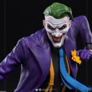DC Comics Art Scale Statue 1/10 The Joker 23 cm Iron Studios UK dc comics figures UK dc comics joker statue iron studios UK Animetal