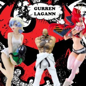 Gurren Lagann figures UK gurren lagann figurines UK gurren lagann statues UK tengen toppa gurren lagann anime merchandise UK Animetal