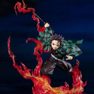 Demon Slayer: KnY FiguartsZERO PVC Statue Tanjiro Kamado (Total Concentration Breathing) 19 cm Bandai UK Demon Slayer tanjiro kamado bandai figure UK Animetal