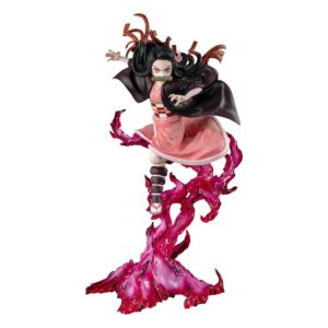 Demon Slayer: Kimetsu no Yaiba FiguartsZERO PVC Statue Nezuko Kamado (Blood Demon Art) 24 cm Bandai UK demon slayer nezuko kamado blood demon figure UK Animetal