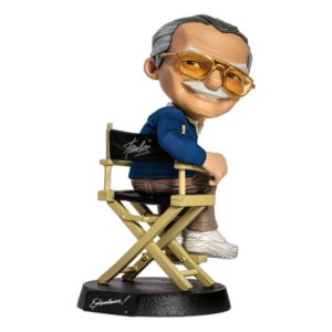 Stan Lee Mini Co. PVC Figure Blue Shirt Version 14 cm Iron Studios UK stan lee figures UK stan lee statues UK stan lee figurines UK marvel figures UK Animetal