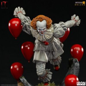 It Chapter Two Deluxe Art Scale Statue 1/10 Pennywise 21 cm Iron Studios UK it the clown statues UK it pennywise statue iron studios UK Animetal
