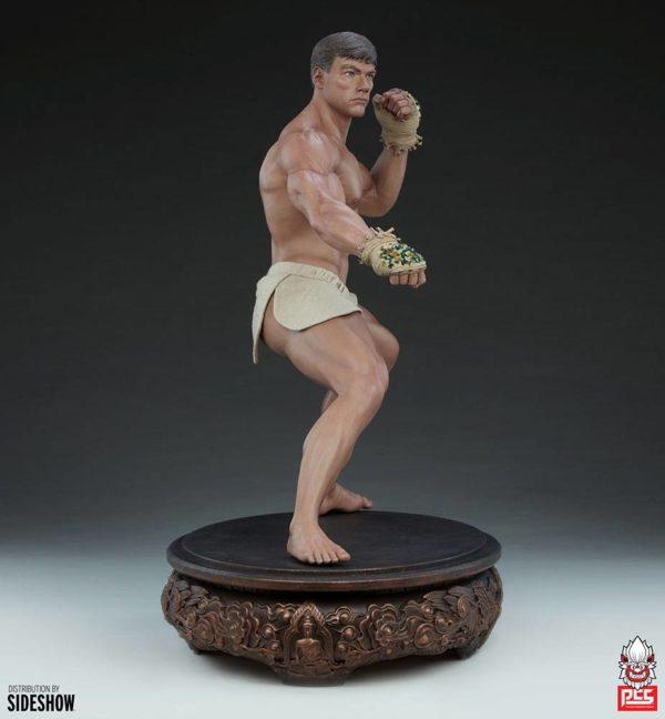 Jean-Claude Van Damme Statue 1/3 Jean-Claude Van Damme: Muay Thai Tribute 57 cm Pop Culture Shock UK jean claude van damme 1/3 scale statue UK Animetal