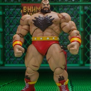 Ultra Street Fighter II: The Final Challengers Action Figure 1/12 Zangief 19 cm Storm Collectibles UK street fighter zangrief action figure UK Animetal