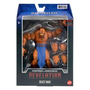 Masters of the Universe: Revelation Masterverse Action Figure 2021 Beast Man Mattel UK masters of the universe beast man action figure UK