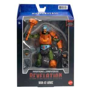 Masters of the Universe: Revelation Masterverse Action Figure 2021 Man-At-Arms Mattel UK masters of the universe action figures UK ANimetal