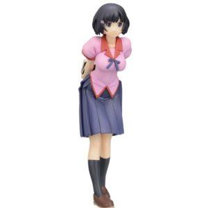 Monogatari Series - Nisemonogatar PVC Statue Tsubasa Hanekawa SEGA UK Monogatari Tsubasa Hanekawa sega figure UK nisemonogatari tsubasa hanekawa figurine sega UK Animetal