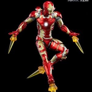 Infinity Saga DLX Action Figure 1/12 Iron Man Mark 43 16 cm ThreeZero UK marvel iron man mark 43 action figure threezero UK Animetal