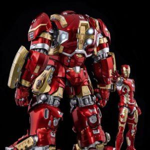 Infinity Saga DLX Action Figure 1/12 Iron Man Mark 44 Hulkbuster 30 cm ThreeZero UK marvel figures UK iron man action figure UK Animetal