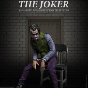 Batman The Dark Knight Dynamic 8ction Heroes Action Figure 1/9 The Joker Deluxe Version 21 cm Beast Kingdom Toys UK the joker action figure UK Animetal