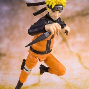 Naruto Shippuden S.H. Figuarts Action Figure Naruto Uzumaki (Best Selection) (New Package Ver) 14 cm Bandai Tamashii Nations UK naruto action figure bandai UK Animetal