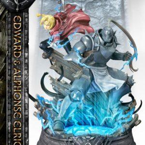 Fullmetal Alchemist Statue 1/6 Edward & Alphonse Elric 56 cm Prime 1 Studio UK Fullmetal Alchemist statue prime 1 studio UK Animetal