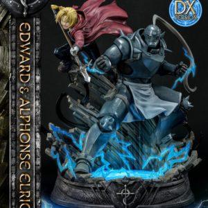 Fullmetal Alchemist Statue 1/6 Edward & Alphonse Elric Deluxe Version 56 cm Prime 1 Studio UK Fullmetal Alchemist statue prime 1 studio UK Animetal