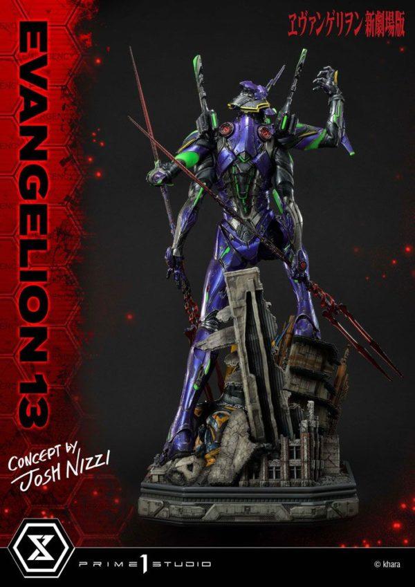 Evangelion: 3.0 You Can (Not) Redo Statue Evangelion 13 Concept by Josh Nizzi 79 cm Prime 1 Studio UK evangelion 13 by josh nizzi statue prime 1 studio UK Animetal
